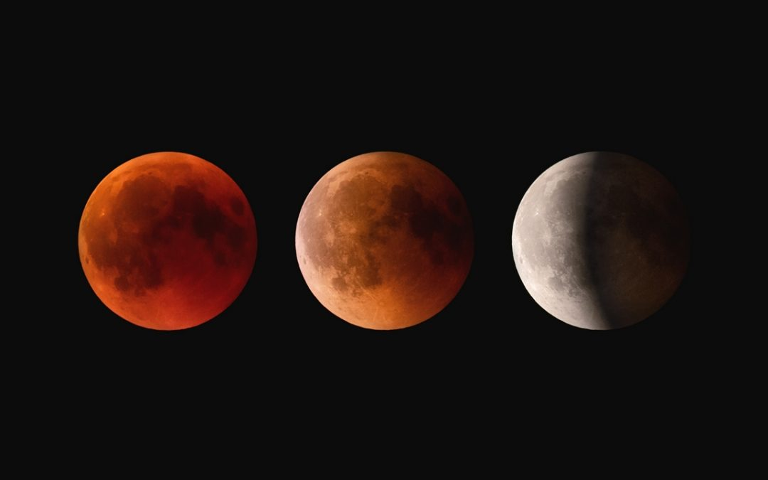 Moon Eclipse. July 2018