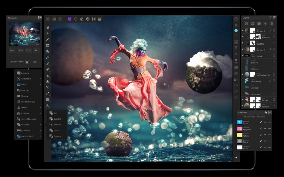 Affinity Photo for iPad. New improvements.